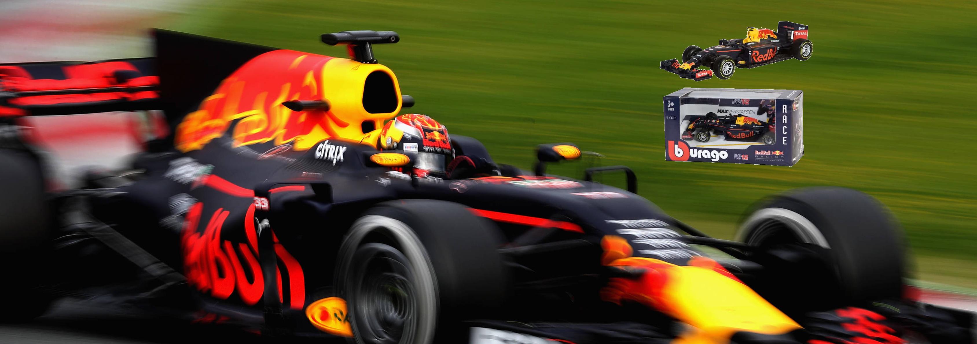 Schaalmodel F1 Max Verstappen nu verkrijgbaar bij Bretex Retail!